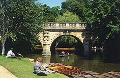 Oxford, England - Magalen Bridge, River Cherwell - A Perfect Day in Oxford by Gail Simmons. Oxford United Kingdom, Oxford City, Oxford England, Amazing Race, Dream City, London City, Vacation Spots, Wonders Of The World, Places To Go