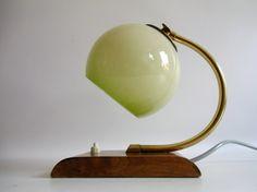 Vintage Tischlampen - kultige art Deco Lampe - 50er Jahre - ein Designerstück von MaDuett bei DaWanda