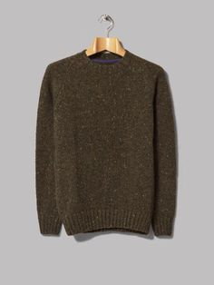 Barbour Netherby Crew Neck (Forest)