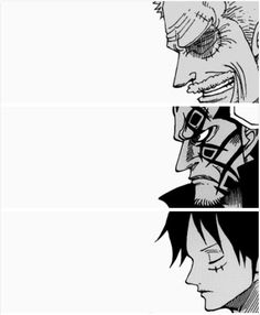 Garp, Dragon and Luffy One Piece Comic, One Piece Ace, One Piece Fanart, One Piece Luffy, Manga Anime, Manga Art, Anime Art, Monkey D Dragon, One Piece Wallpaper Iphone