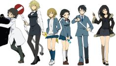 Ohmaigawd-- this. THIS! Durarara has never looked so awesome before, and probably never will! TwT