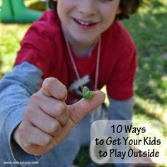 Eco-novice: How to Get Your Kids to Play Outside #30x30challenge