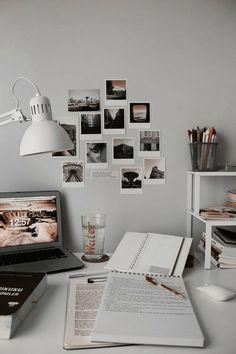 twenty-two, lawblr, slytherin pride, erigom, Study Desk, Study Space, Study Areas, My New Room, My Room, Dorm Room, Tumblr Bedroom Decor, Girls Room Design, Study Room Decor