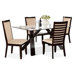 American Signature Furniture   Caravelle Paragon Dining Room 5 Pc. Dinette  $859.95
