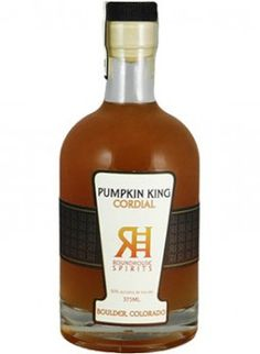 Pumpkin King Cordial Only 5,000 bottles of Pumpkin King Cordial, which is made from Roundhouse Gin and fresh pumpkins, will be made this entire year. SALE PRICE: $22.99