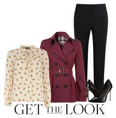 """""""Cool Coats"""" by jackie72107 ❤ liked on Polyvore featuring moda, Paul Smith Black Label, Burberry, Dorothy Perkins, Rachel Zoe y coolcoat"""