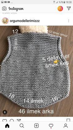 yelek Baby Hats Knitting, Baby Knitting Patterns, Knitting Designs, Fingerless Gloves Knitted, Knitted Hats, Crochet Baby, Knit Crochet, Crochet Mittens Free Pattern, Bebe Baby