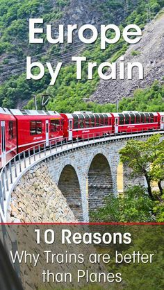 Trains vs Planes – 10 Reasons Why You Should Travel by Train across Europe I had a great time during my travel by train across Europe. I give you 10 persuasive reasons that will make you want to try train travel in Europe too! Europe Train Travel, Europe Travel Guide, Travel Guides, Overseas Travel, Travelling Europe, Travel Uk, Solo Travel, Time Travel, Backpacking Europe