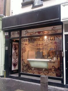 Hendricks Pop up Gin Shop in Covent Garden