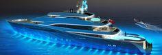 56m Design Concept by Tony Castro http://www.yachtemoceans.com/56m-design-concept-tony-castro/  #superyacht #megayacht #yacht