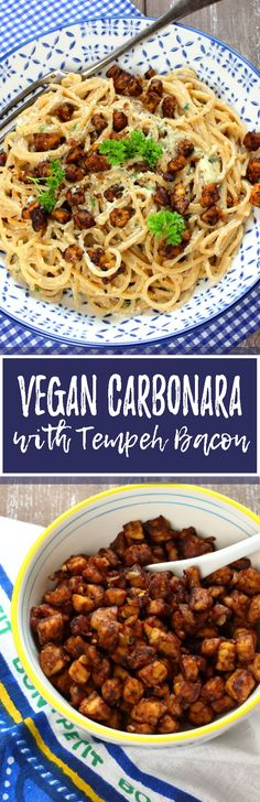 This vegan carbonara