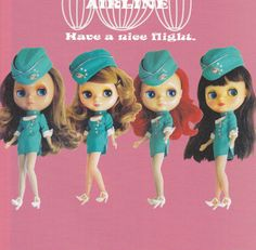 Kenner Blythe Doll Vtg Retro Mod style Air