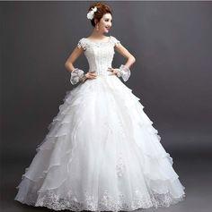 【楽天市場】【予約販売!カード確認後或は入金確認後、20日の発送予定です!】新品プリンセス風オフショルダー着痩せウェディングドレス二次会結婚式:cosall