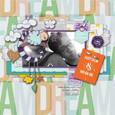 Credits: || 1-day only 50% off, June 3 = Little Butterfly Wings | Dreams Do Come True elements, Dreams Do Come True papers, Dreams Do Come True journal cards || Sara Gleason | Full Bloom : Lilac template