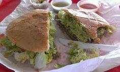 Carne Asada Torta!  Great Mexican Sandwich!