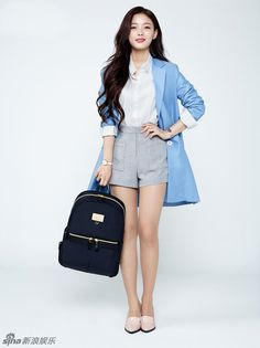 Kim Yoo Jung - Samsonite Red (S S - Korean photoshoots 05a68f5697e05