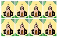 juego diezmo diseño cartas revés La samaritana. Juegos de nueva evangelizacion