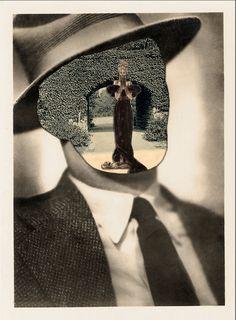 jasonkearneycuts: The Void(2013) Digital Collage    Respect to John Stezaker