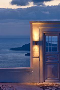 Door to the Aegean, Fira, Santorini