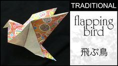 Traditional Origami Flapping Bird Tutorial