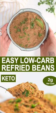 Healthy Low Carb Recipes, Low Carb Dinner Recipes, Healthy Drinks, Healthy Eating, Low Carb Mexican Food, Mexican Food Recipes, Bacon Recipes, Keto Recipes, Low Carb Beans