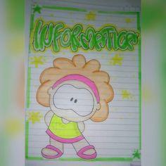 Ideas de como marcar tus cuadernos🌼vídeo en youtube😍 ..#marcarcuadernos #timoteo #letratimoteo #area - artconmigo My Notebook, Doodles, Lily, Display, Lettering, Cool Stuff, Drawings, Frame, Banners