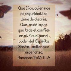 Romanos 15.13 TLA