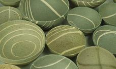 Charlotte Jones. Love this matte green glaze.