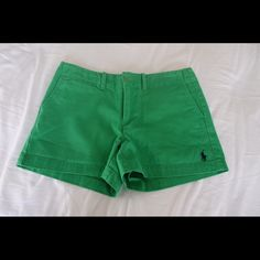 Ralph Lauren Shorts Green, Ralph Lauren shorts, I've only worn them once before and that was a while ago, they're in great condition Ralph Lauren Shorts Jean Shorts