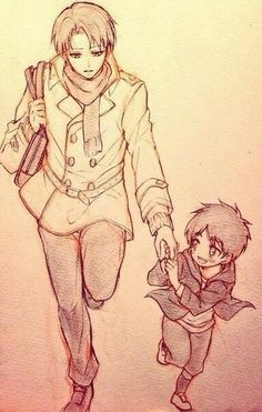 Part 2 ereri little eren and levi