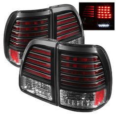 ( Spyder ) Toyota Land Cruiser LED Tail Lights - Black These tail lights greatly enhance the look of your vehicle. Want to have a show car look? Or just something that satisfy your personal tast 100 Series Landcruiser, Landcruiser 100, Land Cruiser Models, Fj Cruiser, Led Tail Lights, Car Lights, Toyota Cars, Auto Toyota, Toyota Lc
