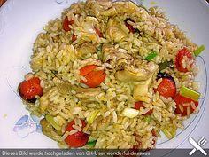 Reispfanne mit Hähnchen