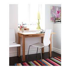 BJURSTA Mesa extensible, chapa roble - IKEA