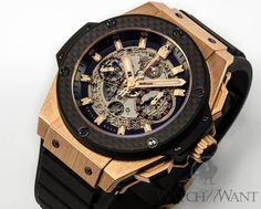 Hublot Big Bang King Power Unico Fly-Back Chronograph: $34,995 #Hublot #Watches #NewArrivals