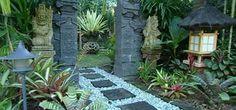 Balinese garden design ideas