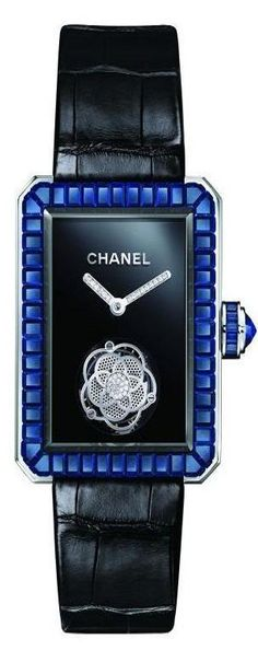 Chanel Blue and black