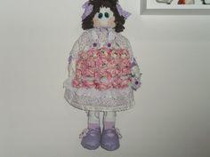 Boneca porta Lembrancinhas Broche carinhas de Bonecas para Maternidade