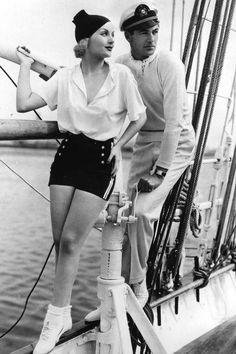 Carole Lombard & Gary Cooper, 1930
