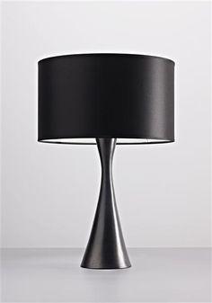 Georges Jouve; Glazed Ceramic Table Lamp, c1954.