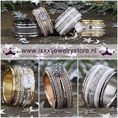 34 vind-ik-leuks, 1 reacties - 't Juffie makes a lady smile! (@t_juffie) op Instagram: 'De prachtige 'iXXXi Christmas Collection' staat nu online! ✨Gratis BIBA armbandje bij elke iXXXi…' Jewelry Bracelets, Bangles, Fashion Accessories, Fashion Jewelry, Contemporary Jewellery, Cocktail Rings, Diamond Rings, Bling, Engagement Rings