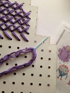 How To: Giant Cross Stitch Art and Decor