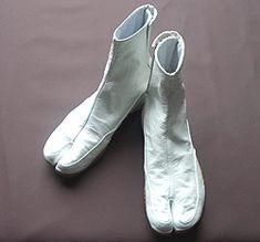 白・無地(カンガルー皮)の地下足袋
