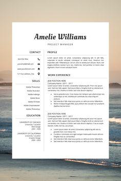 modern cv layout - professional cv format - work cv template - simple resume format Simple Resume Format, Cv Format, Cover Letter Template, Letter Templates, Best Cv Template, Microsoft Word 2007, Modern Resume, Resume Cv, Creative Resume Templates