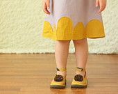 Girls Dress 2t 3t 4t 5t dress lavender mustard yellow linen Made to Order  http://www.etsy.com/treasury/MTI5MzE1Mzl8MjcyMjgyNDczMg/mustard-summer