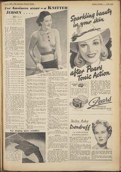 Issue: 29 Jul 1939 - The Australian Women's Wee...