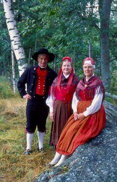 Kvevlax Kvevlax, Österbotten, Finland | Folkdräkter - Dräktbyrå - Brage