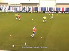 Wayne Harrison SA: My favorite Conditioned Game Forcing Movement OFF & AWAY from the Ball P2 - YouTube