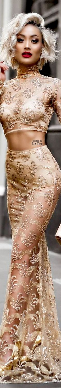❇Téa Tosh❇ Micah Gianneli News Fashion, Look Fashion, High Fashion, Micah Gianelli, Glamour, Beige, Elegant Woman, Couture Fashion, Her Style