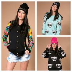 More new stuff!   #joyrich #hellzbellz #botb #fashion #clothes #shopping #studded #floral #luvb #shopluvb  (at www.shopluvb.com)