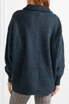 Étoile Isabel Marant - Declan Chunky-knit Sweater - Petrol